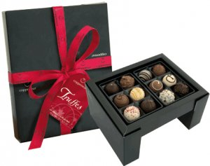 Truffles Collection (with alcohol) (12 Piece)